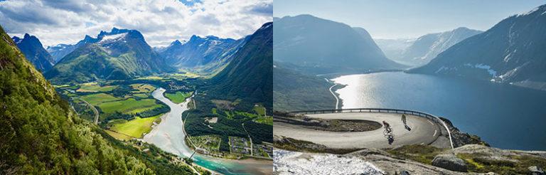 Åndalsnes and Loen, Norway