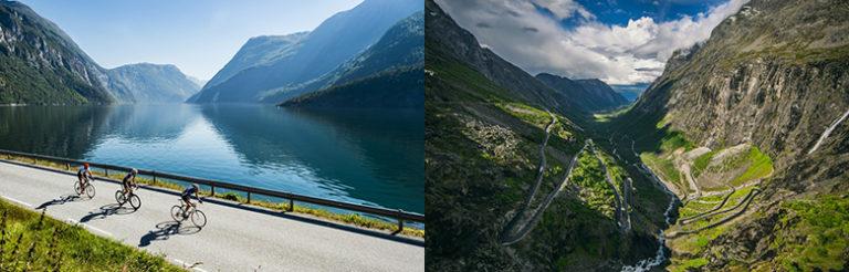Upplev Norge från cykeln